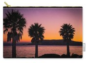 Three Palms Carry-all Pouch