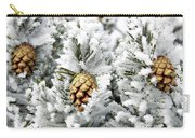 Three Pinecones Carry-all Pouch