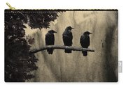 Three Ravens Branch Out Carry-all Pouch