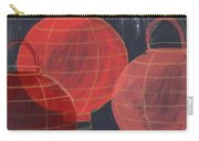 Three Red Lanterns- Art By Linda Woods Carry-all Pouch