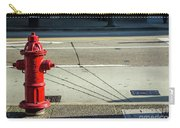 Three Red Lines Carry-all Pouch