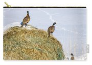 Three Roosters Carry-all Pouch
