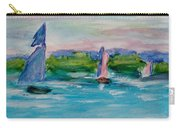 Three Sailboats Carry-all Pouch