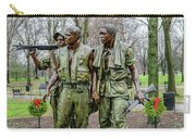 Three Soldiers Memorial Carry-all Pouch