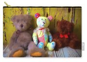 Three Special Bears Carry-all Pouch