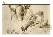 Three Studies Of The God Bacchus Carry-all Pouch