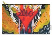Three Swords Of 2016 Carry-all Pouch