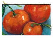 Three Tangerines Still Life Grace Venditti Montreal Art Carry-all Pouch