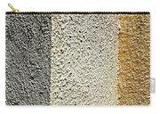Three Textures Carry-all Pouch