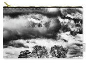 Three Tree Tops Landscape Carry-all Pouch