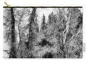Three Trees Bw Carry-all Pouch