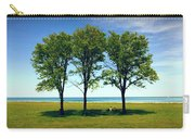 Three Trees Lake Shore Carry-all Pouch