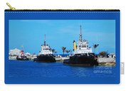 Three Tugs In A Row, Bermuda Carry-all Pouch