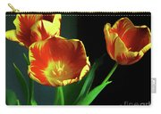 Three Tulips Photo Art Carry-all Pouch