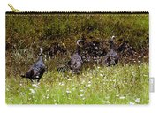 Three Turkeys Carry-all Pouch