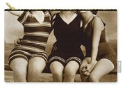 Three Vintage Bathing Beauties Carry-all Pouch