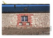 Three Windows On A Brick Wall Carry-all Pouch