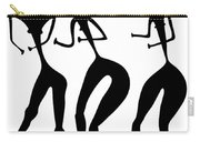 Three Women - Primitive Art Carry-all Pouch