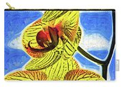 Three Yellow Orchid Blooms Carry-all Pouch