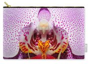 Throat Of An Orchid Carry-all Pouch