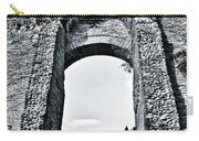 Through The Arch In A Sicily Ruin Carry-all Pouch