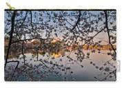 Through The Cherry Tree Carry-all Pouch