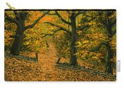 Through The Fallen Leaves Carry-all Pouch