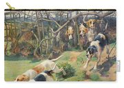 Through The Fence Carry-all Pouch by Arthur Charles Dodd