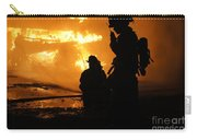 Through The Flames Carry-all Pouch by Benanne Stiens