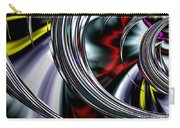 Through The Glass Carry-all Pouch by Vix Edwards