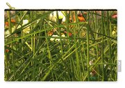 Through The Grass Curtain Carry-all Pouch