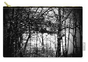 Through The Lens- Black And White Carry-all Pouch