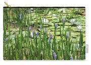 Through The Lily Pond Carry-all Pouch
