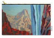 Through The Narrows, Zion Carry-all Pouch by Erin Fickert-Rowland