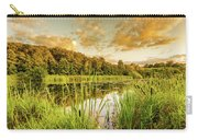 Through The Reeds Carry-all Pouch by Nick Bywater
