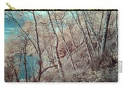 Through The Trees In Infrared Carry-all Pouch