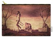 Through The Valley  Carry-all Pouch by Bob Orsillo