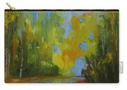 Through The Woods Abstractly Carry-all Pouch