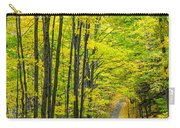 Through Yellow Woods Carry-all Pouch