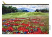 Thunder Clouds Over Bavarian Meadow Carry-all Pouch