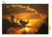 Thunder Mets Sunset Carry-all Pouch