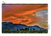 Thunder Storm In The Valley Carry-all Pouch