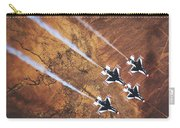 Thunderbirds In Diamond Roll Formation Carry-all Pouch