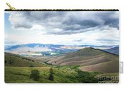 Thunderclouds Over The Hills Carry-all Pouch