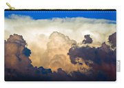 Thunderhead Cloud Color Poster Print Carry-all Pouch