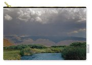 2a6738-thunderhead Over Owens River  Carry-all Pouch