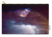 Lightning Thunderstorm Over Dacono Carry-all Pouch
