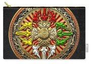 Tibetan Double Dorje Mandala Carry-all Pouch