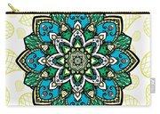 Tibetan Mandala Seamless Pattern Carry-all Pouch