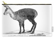 Tibetan Musk Deer Carry-all Pouch